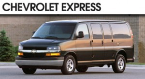 Chevrolet Express Seating